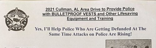 Photo post from City of Cullman Municipal Government.