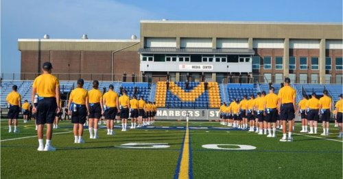 Photo post from Massachusetts Maritime Academy.