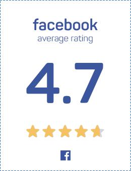 Facebook reviews badge