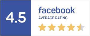 Facebook Average Rating Badge
