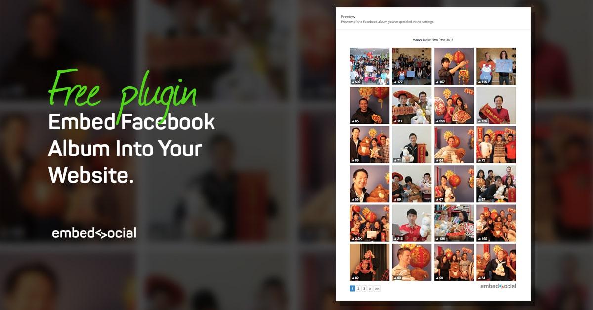how to create an album facebook app