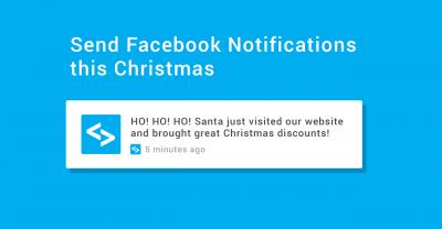 send facebook notifications