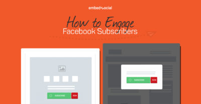 Engage Facebook subscribers