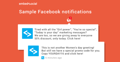 examples of facebook notifications
