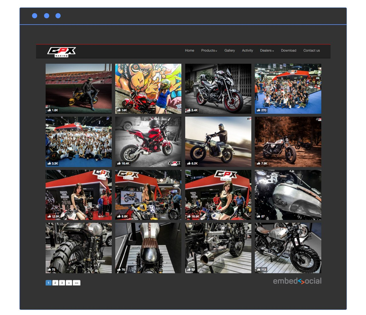 gpx facebook album plugin