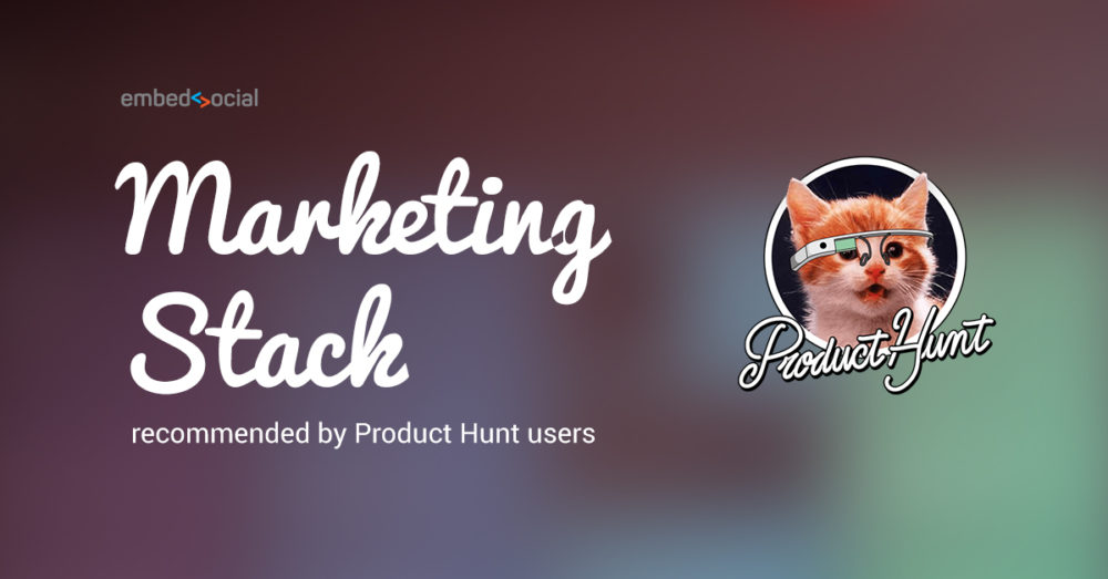 Marketing Stack from Product Hunt