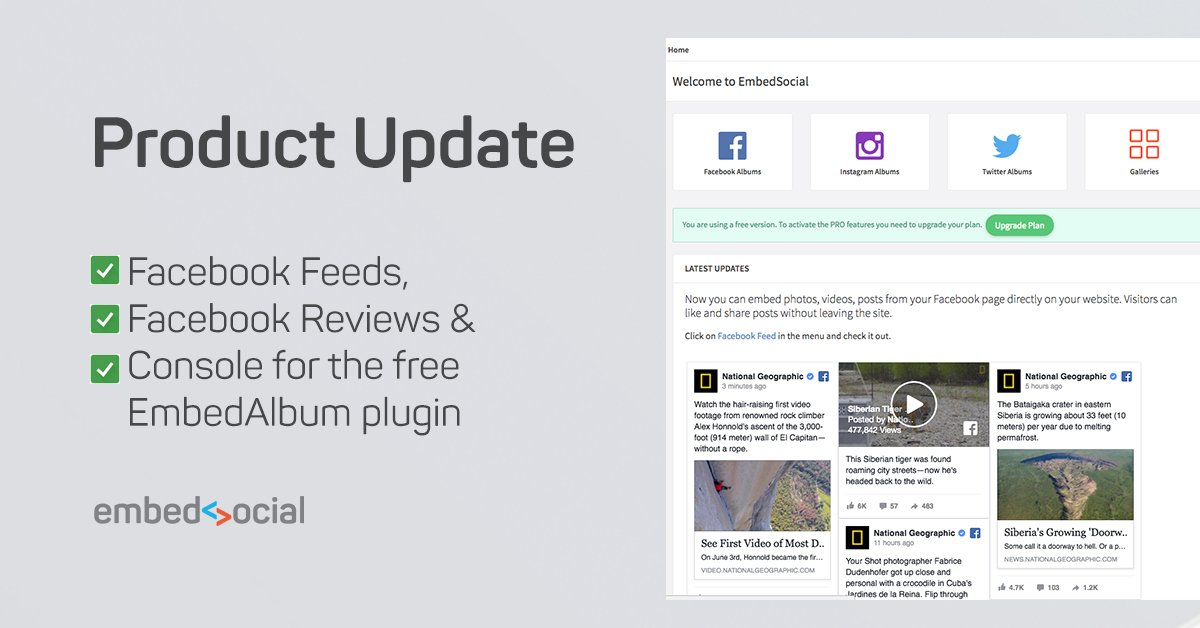 EmbedSocial product update