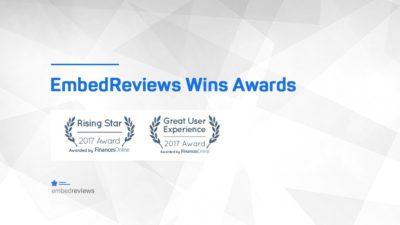 EmbedReviews Awards