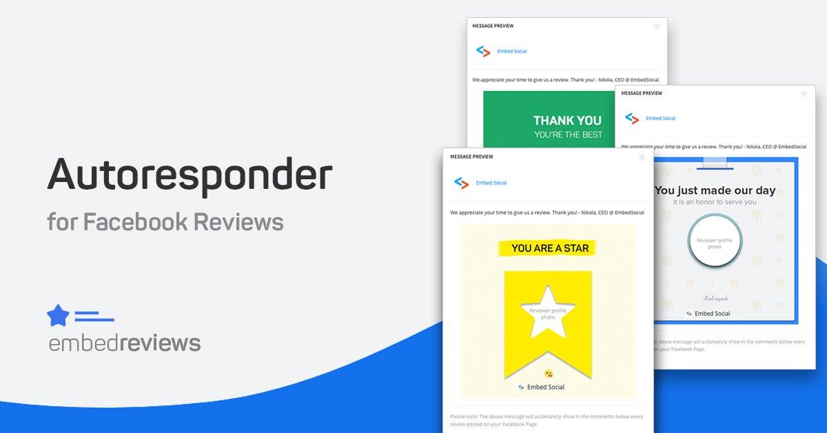 Autoresponder for Facebook Reviews