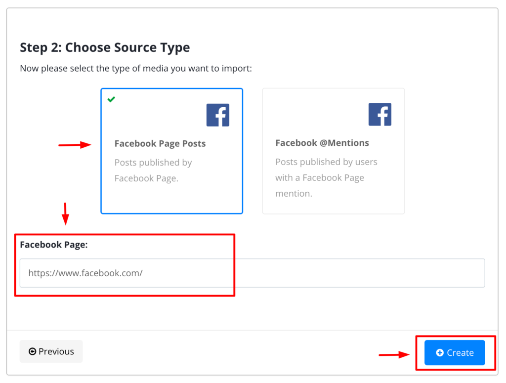 embed facebook page posts