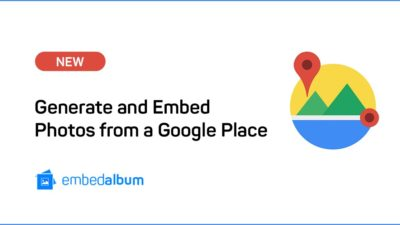 Embed Google Place Photos