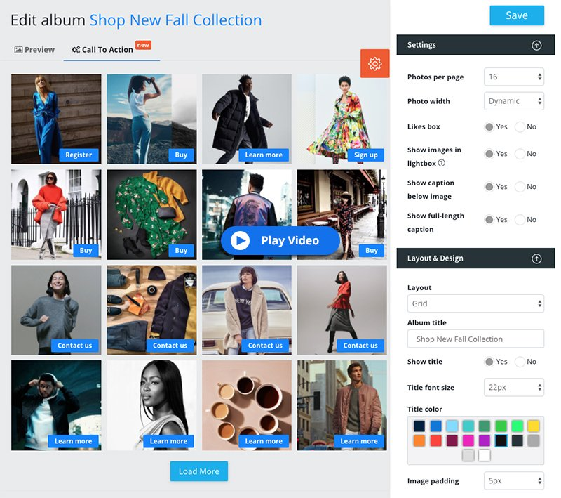 Embed Facebook and Instagram Shop on Any Website - EmbedAlbum