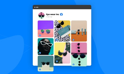 embed facebook album gallery