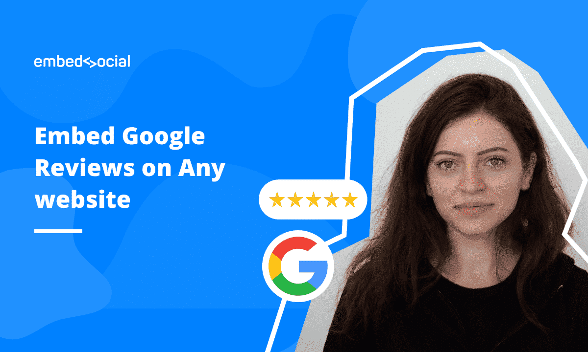 video tutorial to embed google reviews