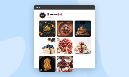 embed instagram hashtag feed