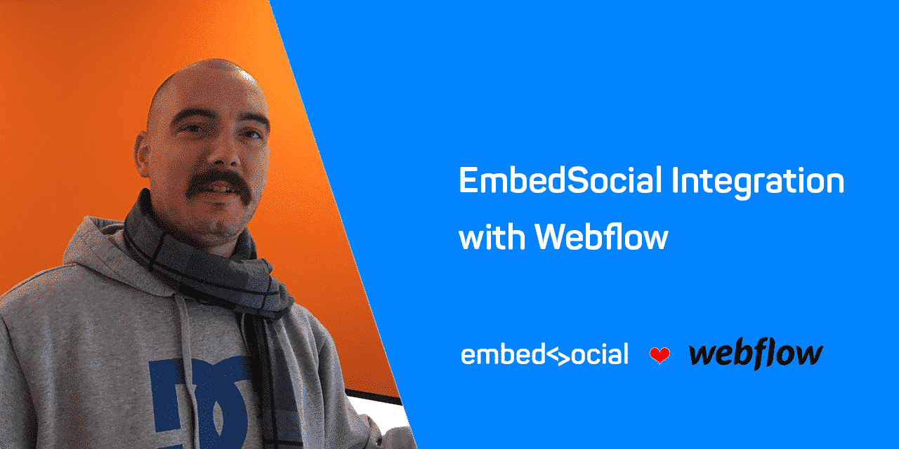 embedsocial webflow integration