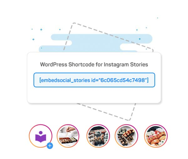WordPress plugin for Instagram stories