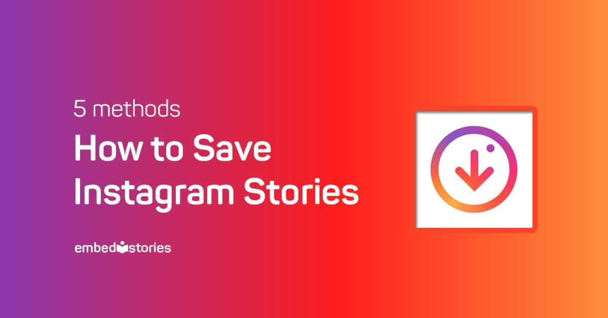 How to save instagram stories save instagram stories ccuart Images