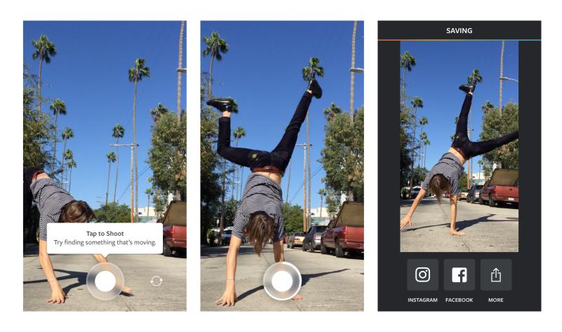 instagram app boomerang