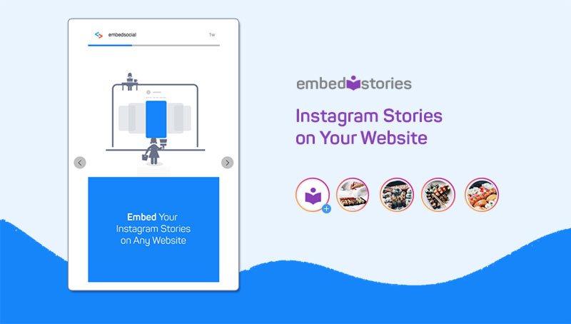 display Instagram stories