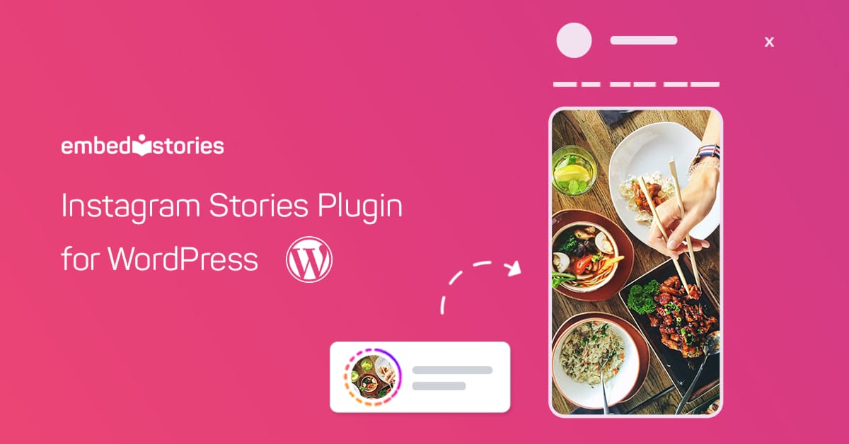 Instagram stories WordPress plugin