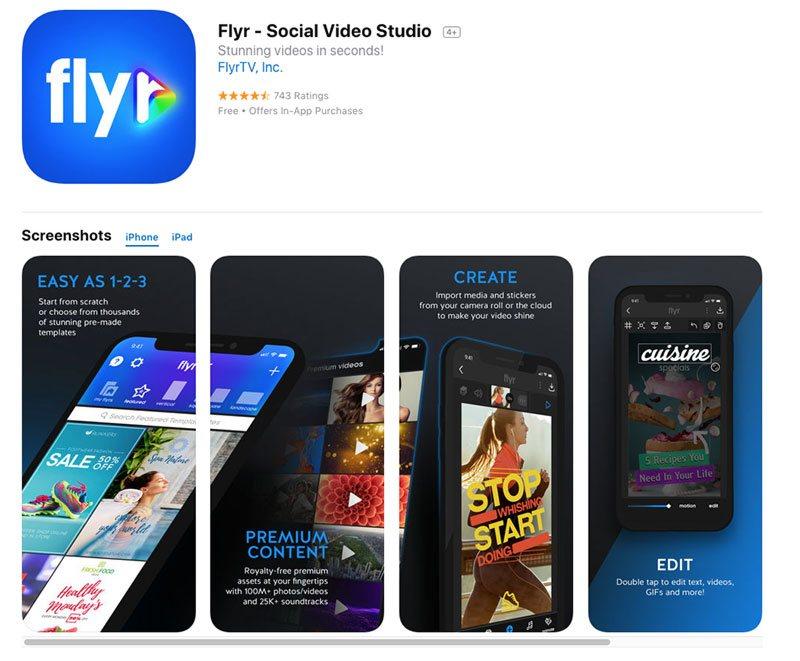 create instagram story video