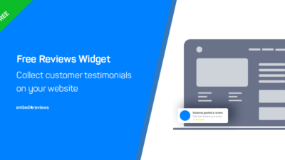Free reviews widget