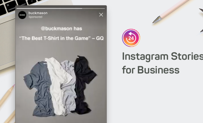 Business Instagram stories