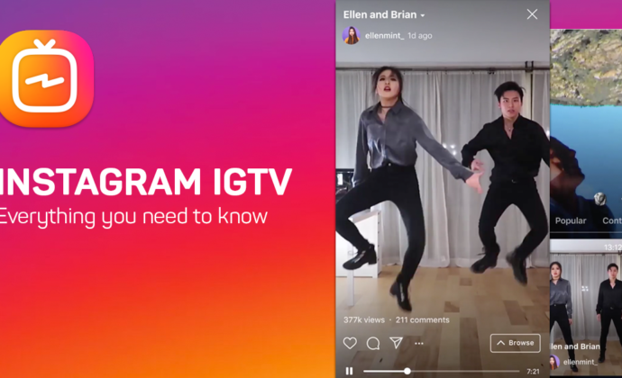 start with igtv