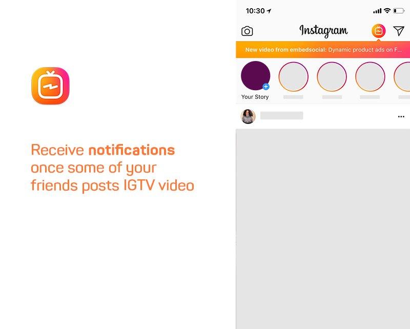 IGTV notification