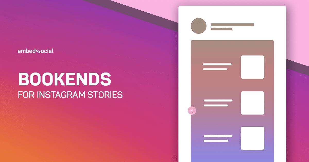 instagram stories bookends