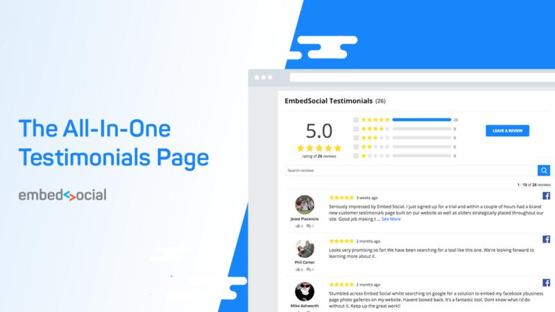 google and facebook reviews widget