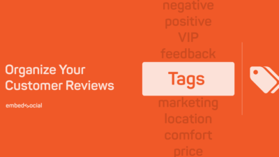 tag and organise reviews