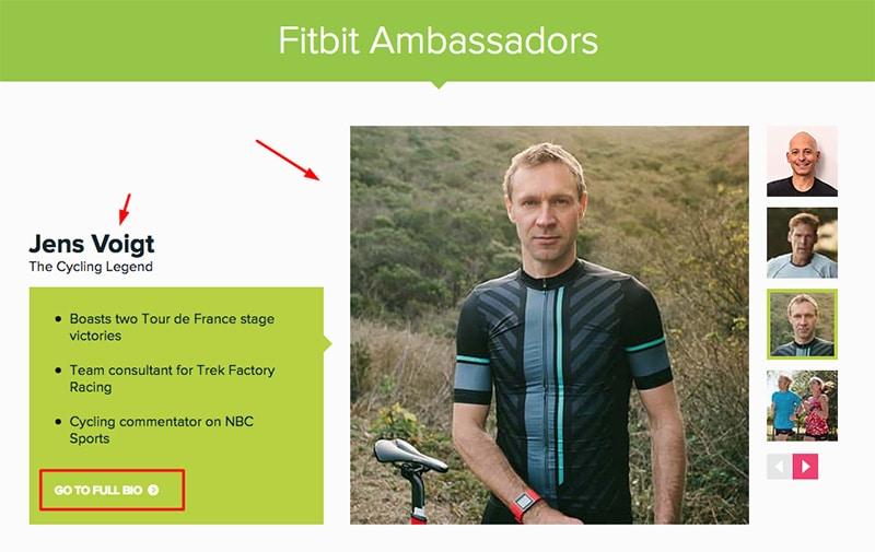 Fitbit ambassadors