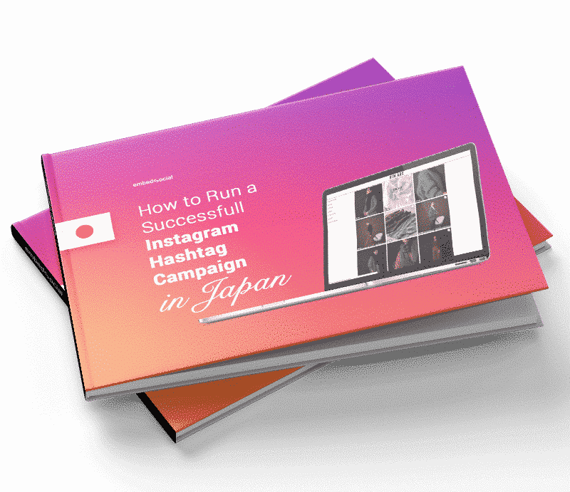 Instagram hashtag campaign japan ebook