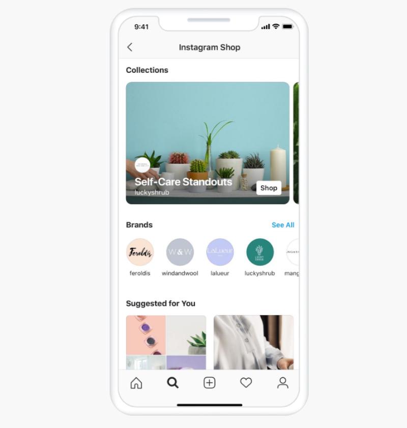 new instagram shops