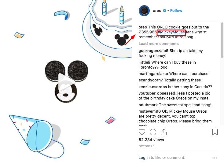 oreo hashtag campaign