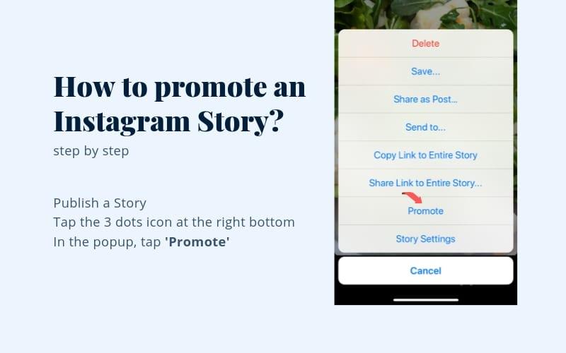 share link instagram story