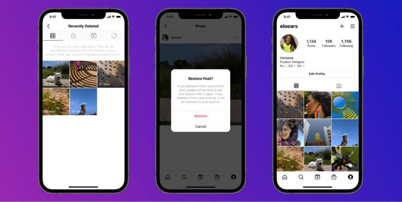 novo recurso do instagram para restaurar mensagens excluídas
