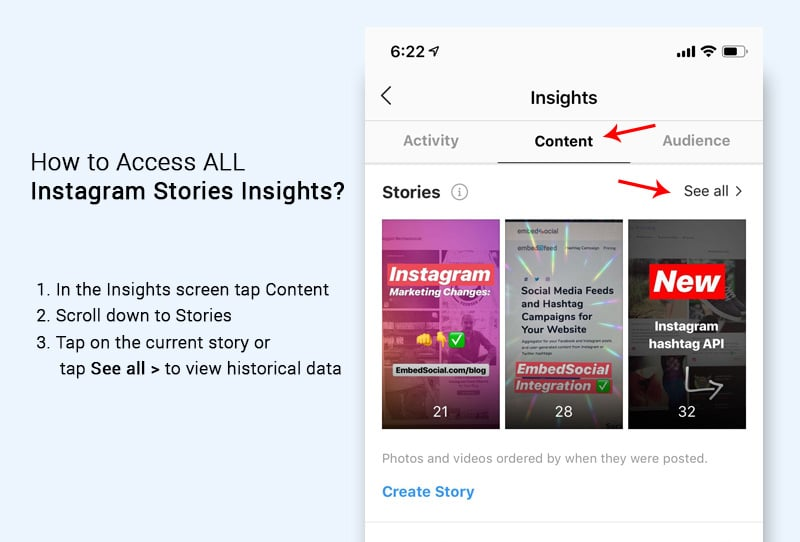 instagram stories insights