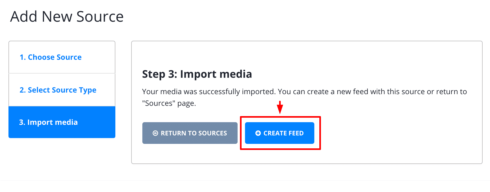 import facebook mentions step3