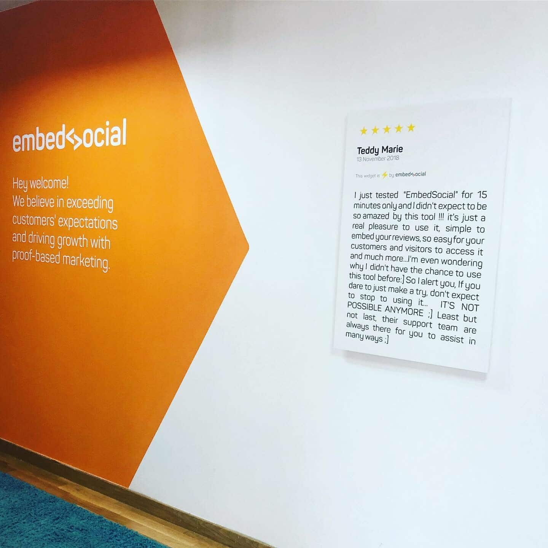 EmbedSocial walls