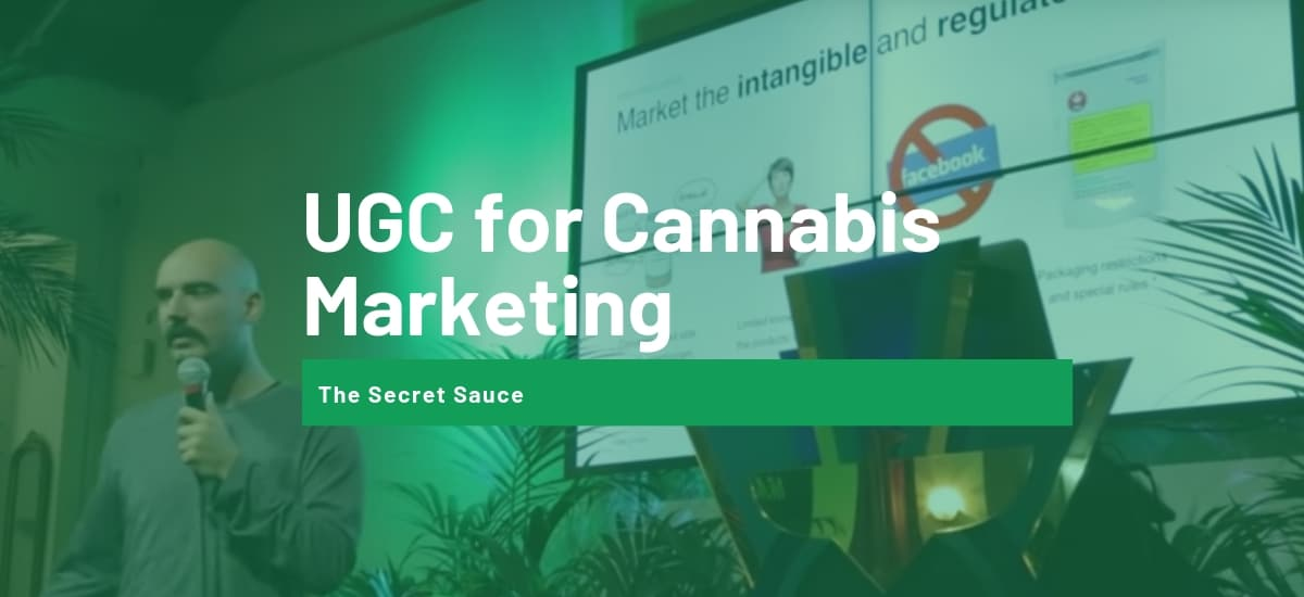 UGC for cannabis marketing