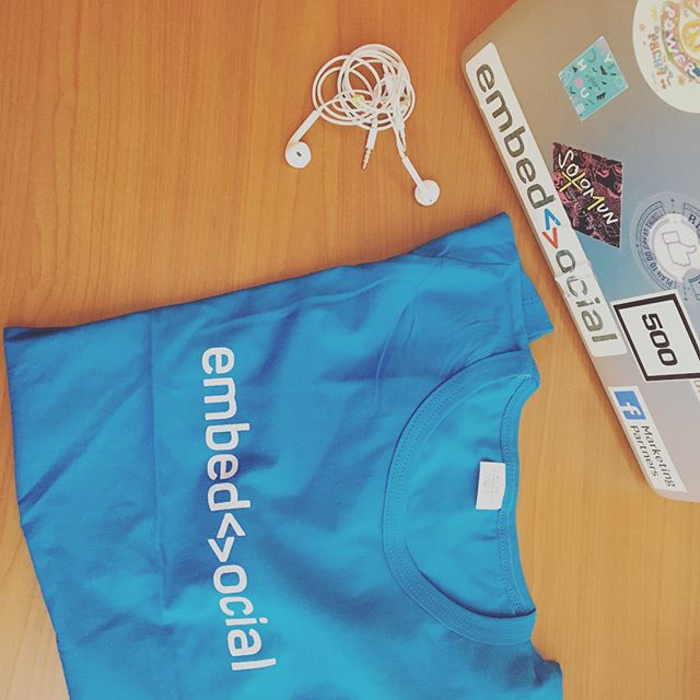 EmbedSocial swag