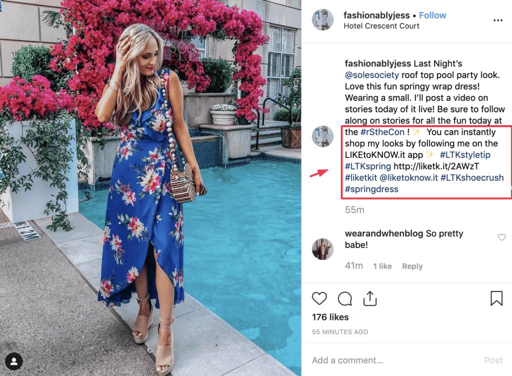 Instagram hashtag campaign