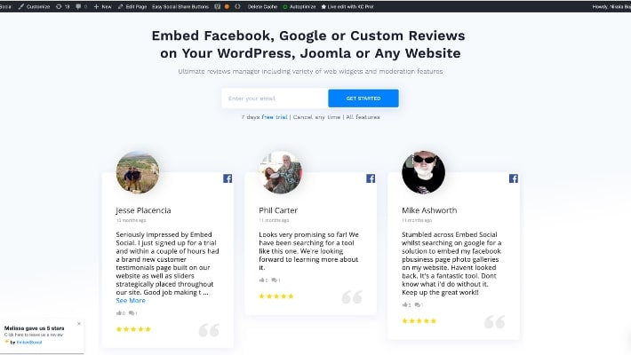 reviews plugin for wordpress