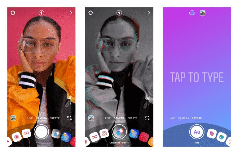 creator camera mode for Instagram