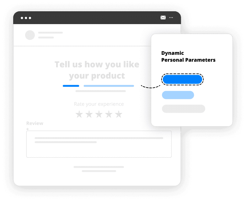 email parameters personalization