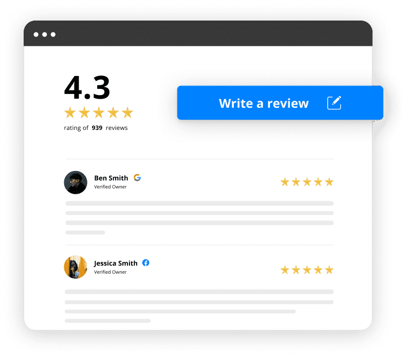 shopify full page for reviews