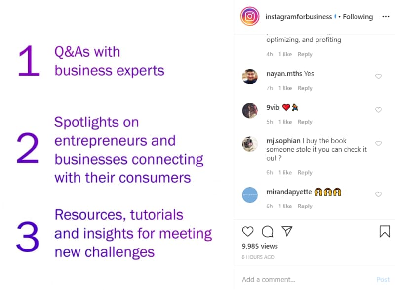 Instagram plans to help small businesses